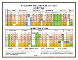 Permalink to:Structura anului scolar